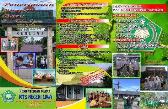 BROSUR PSB MTS NEGERI LIWA